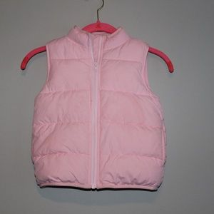 Gymboree puffer vest, girls size Small (5-6)